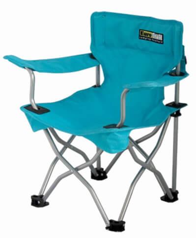 Krzesło turystyczne dla dzieci EuroTrail Ardeche niebieskie