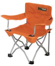 Krzesło turystyczne dla dzieci EuroTrail Ardeche pomarańczowe