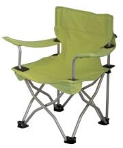 Krzesło turystyczne dla dzieci EuroTrail Ardeche limonka