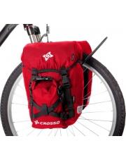 Sakwy rowerowe wodoszczelne Crosso Classic Small 30 l przednie lub tylne