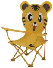 Krzesło turystyczne dla dzieci EuroTrail Ardeche Tygrys