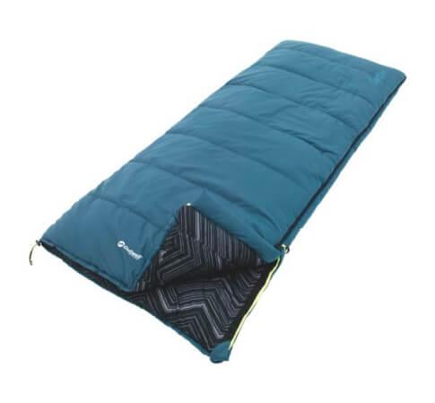 Śpiwór pojedyńczy Outwell Courtier Blue niebieski