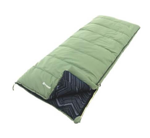 Śpiwór pojedyńczy Outwell Courtier Green zielony