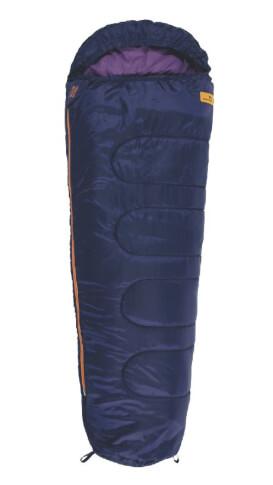 Śpiwór mumia dla dzieci Easy Camp Cosmos Junior Purple