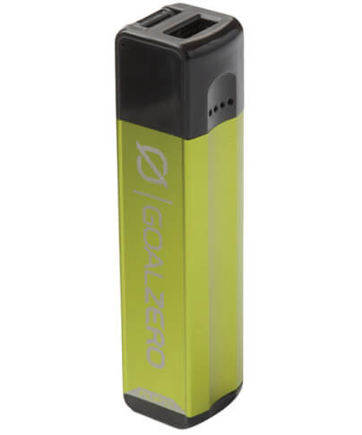 Lekki Power Bank z USB 2600 mAh FLIP 10 Goal Zero zielony