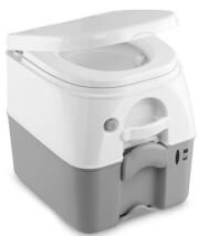Toaleta przenośna 19 litrów Dometic (Waeco) 976 białoszara 27 spłukań