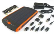 Pojemny power bank solarny 23000 mAh Sunen