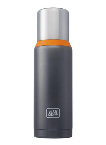 Termos turystyczny Esbit Vacuum Flask Plus 1,0 L grey orange