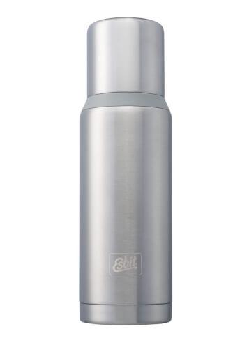 Termos turystyczny Esbit Vacuum Flask Plus 1,0 L steel grey