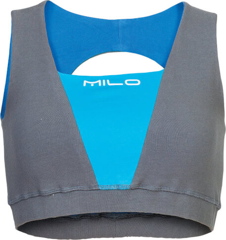 Top sportowy SOSO MILO – szaro niebieski