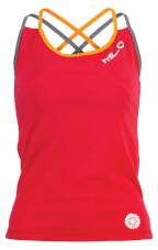 Damski top sportowy w góry ATTI red