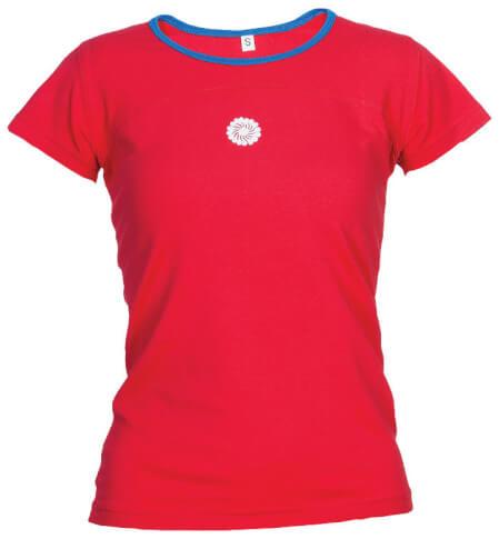 Damska koszulka górska Milo TIMMA LADY red