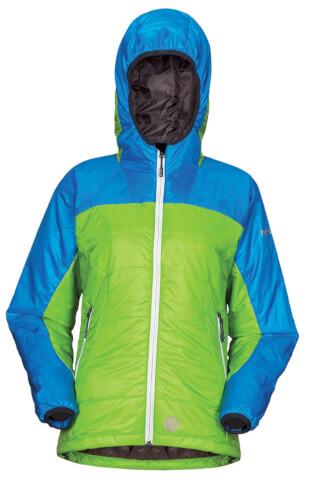Damska kurtka techniczna na zimę BOMO LADY green Milo