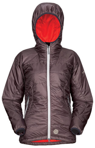 Damska kurtka techniczna na zimę BOMO LADY grey Milo