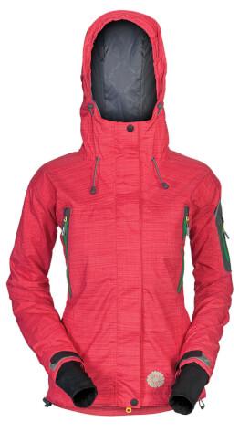 Damska techniczna kurtka na zimę BRUX LADY Milo red