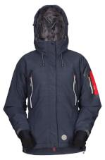 Damska techniczna kurtka na zimę Brux Lady black Milo