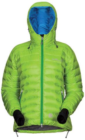 Damska techniczna kurtka na zimę MANALI LADY green Milo