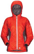 Zimowa kurtka w góry Rove LADY orange damska Milo