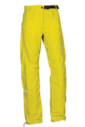Spodnie wspinaczkowe Milo Aki lady yellow