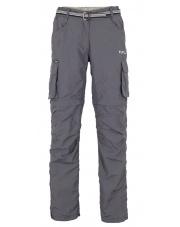 Damskie spodnie turystyczne Milo Nagev Lady grey szare
