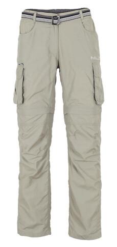 Spodnie turystyczne damskie Milo Nagev Lady kolor piaskowy