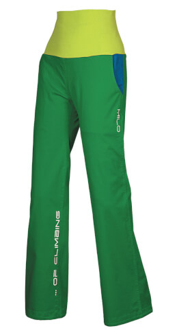 Spodnie wspinaczkowe TATCO LADY green Milo