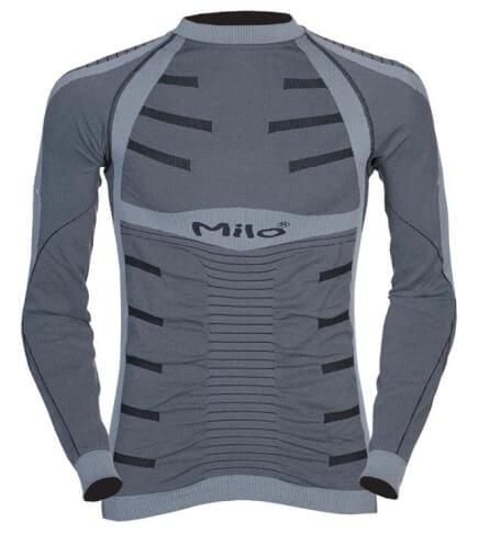 Termoaktywna bluza UNDER SHIRT grey Milo