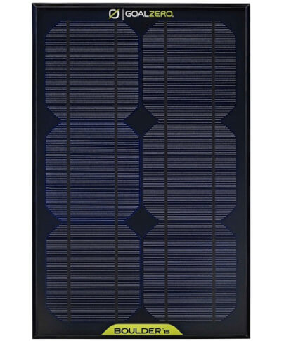 Turystyczny panel solarny BOULDER 15 Goal Zero