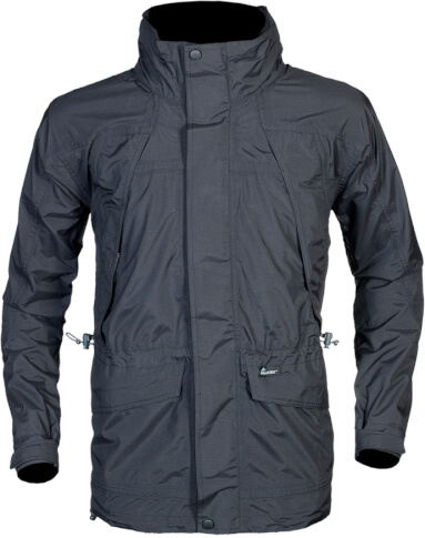 Klasyczna kurtka outdoor BAFRA czarna Milo