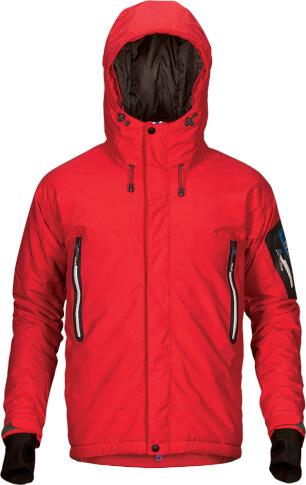 Techniczna kurtka zimowa BRUX red Milo