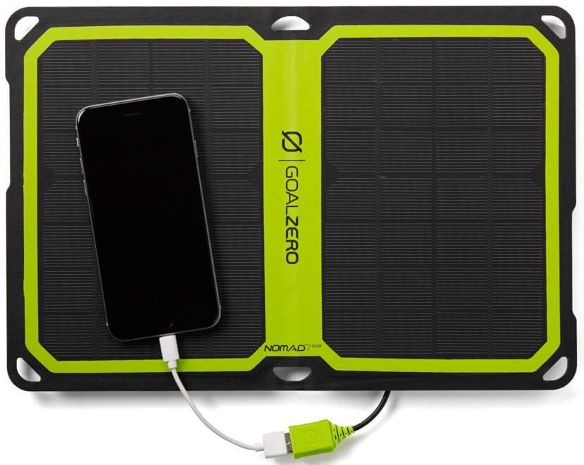 Turystyczny Panel Słoneczny Nomad 7 Plus Panel Solarny Z