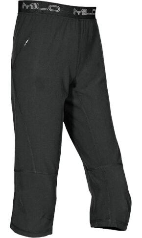 Spodnie wspinaczkowe MONACO 3/4 black Milo