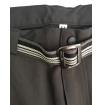Spodnie techniczne męskie Milo Uttar black czarne