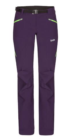 Spodnie damskie trekkingowe Zajo Air LT W Pants mysterioso – softshell