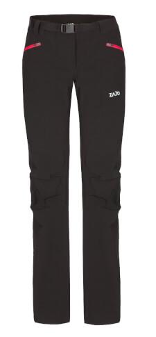 Spodnie damskie trekkinogowe Zajo Air LT W Pants black – softshell