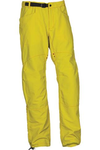 Górskie spodnie wspinaczkowe AKI yellow Milo