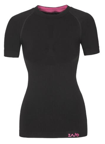 Koszulka termoaktywna Zajo Contour W T-shirt SS black