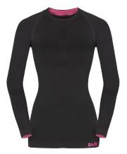 Koszulka termoaktywna długa Zajo Contour W T-shirt LS black