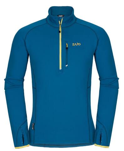 Męska bluza polar Zajo Arlberg Pull morrocan blue