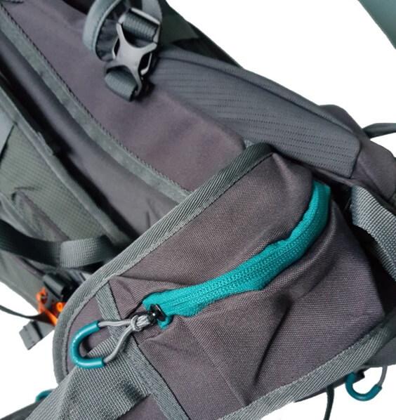 2768a3d4875c1 Plecak turystyczny SAFI 45 szaro czerwony Milo | Sklep turystyczny ...
