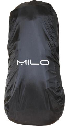 Pokrowiec na plecak Raincover 45 black Milo czarny