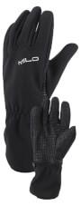 Zimowe rękawiczki membranowe TIBBA black Milo