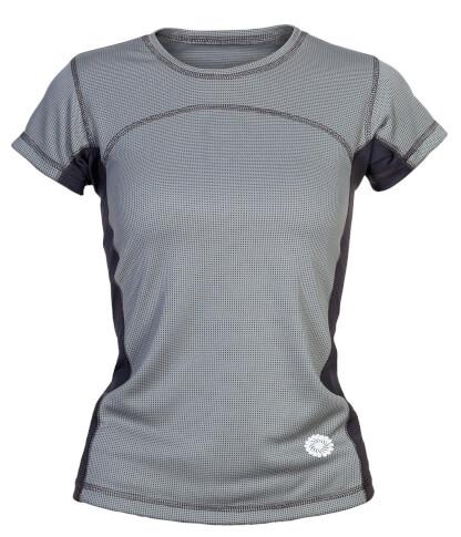 Damska koszulka w góry BAMBOO LADY grey Milo