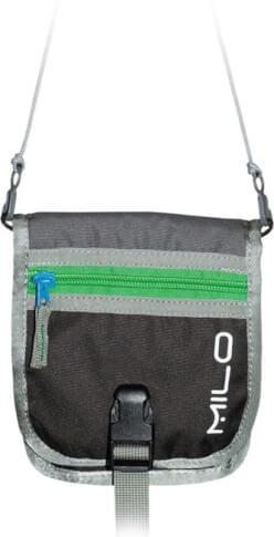 Paszportówka na szyję portfel MONGO green Milo
