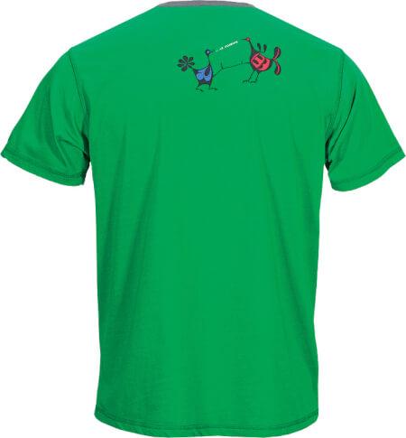 Koszulka wspinaczkowa BIRD green Milo
