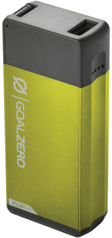 Outdoor power bank 5200 mAh FLIP 20 Goal Zero zielony