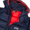 Damska puchowa kurtka zimowa Zajo Valbella W Jkt hibiscus red