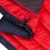 Kurtka zimowa damska puchowa Zajo Valbella W Jkt hibiscus red