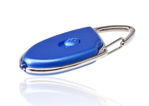 Latarka ESP Explorer brelok do kluczy blue