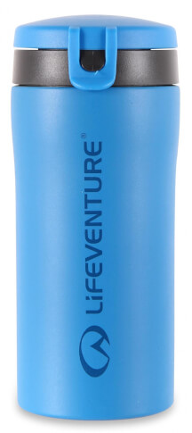 Szczelny Kubek termiczny z nakrętką Flip-Top Thermal Mug blue Lifeventure